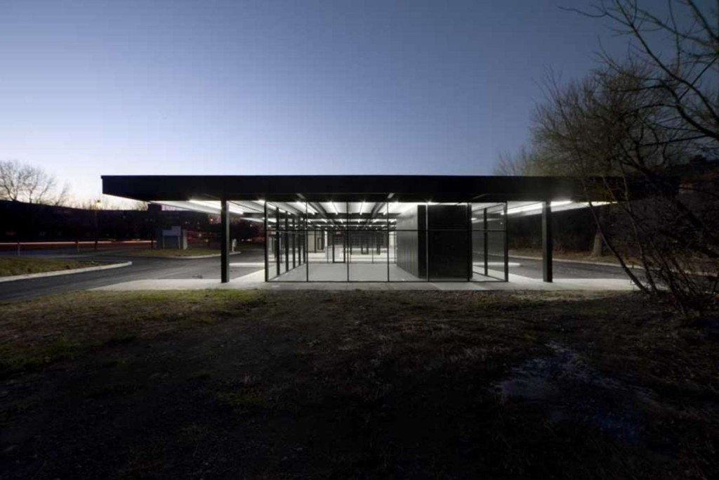Mies gas station new #2