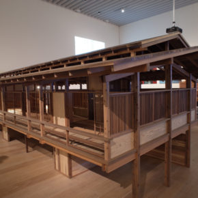 Japan in Architecture : 1/3 scale giant model of Kenzo Tange's home