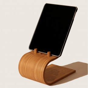 Bamboo Kitchen Tablet Stand