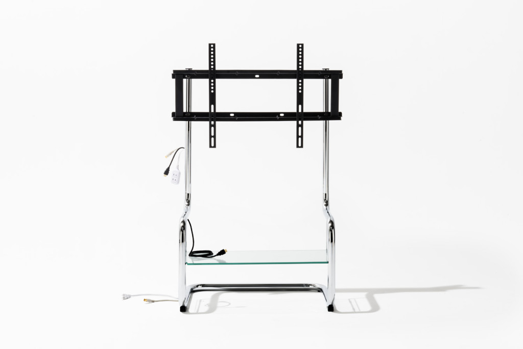 Simple design tv stand with mount