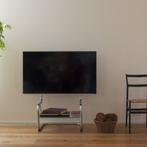 TV stand entertainment unit with simple modern design