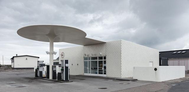 アルネ・ヤコブセンによるテキサコのサービスステーション