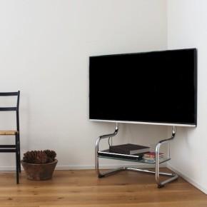 コーナーテレビ台 がリビングルームを広げ、インテリアの幅を広げます。