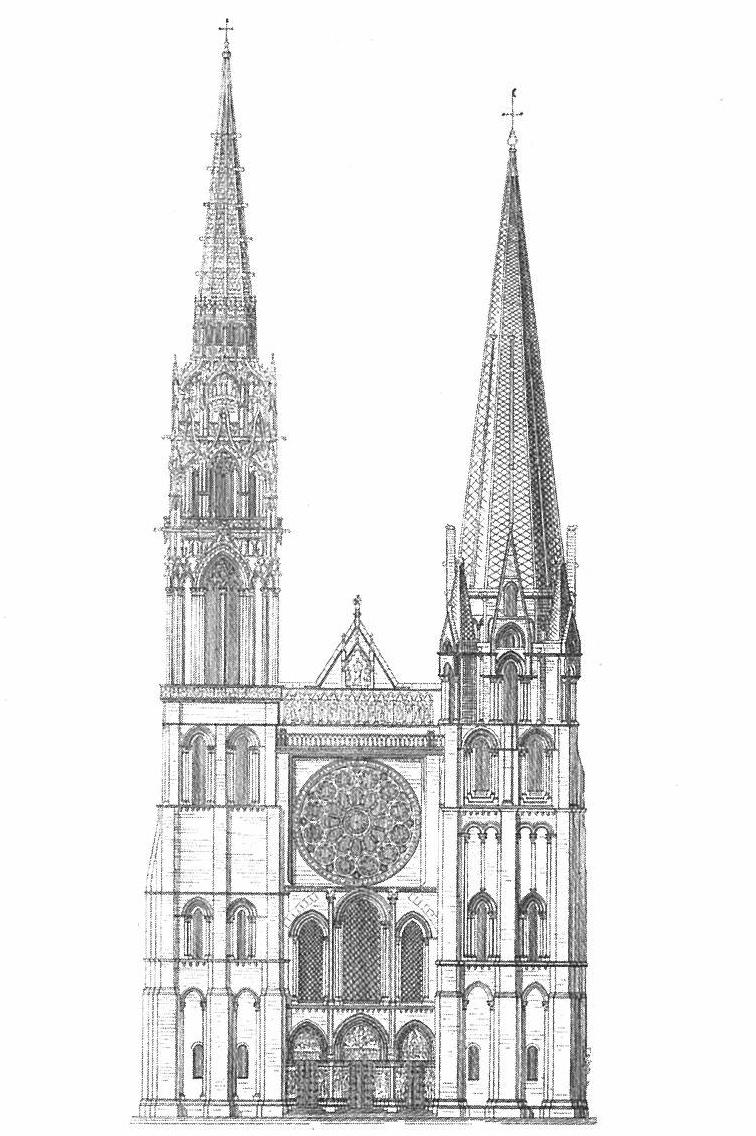 シャルトル大聖堂 メイキング