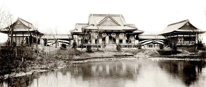 シカゴ万博 日本館鳳凰殿 1893年 デザインテレビスタンドのザイトガイストによるデザインストーリー