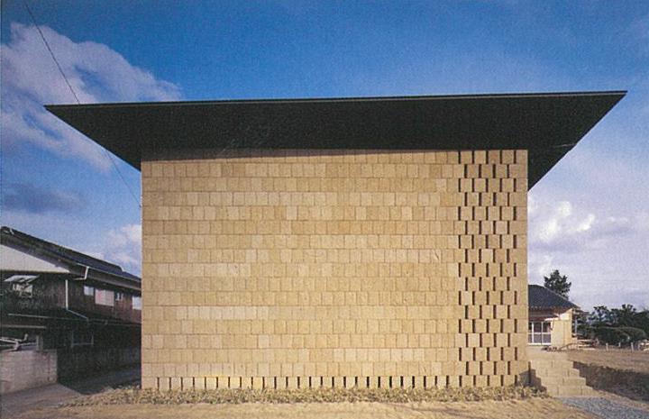 隈研吾-安養寺-木造阿弥陀如来坐像収蔵施設