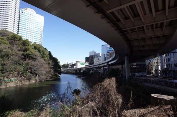 東京オリンピック 道路 弁慶橋