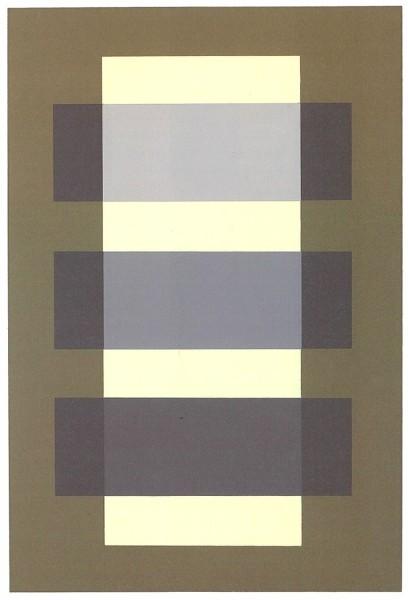 ジョゼフ・アルバース 配色の設計 立体