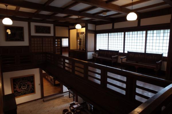 日本民芸館内部