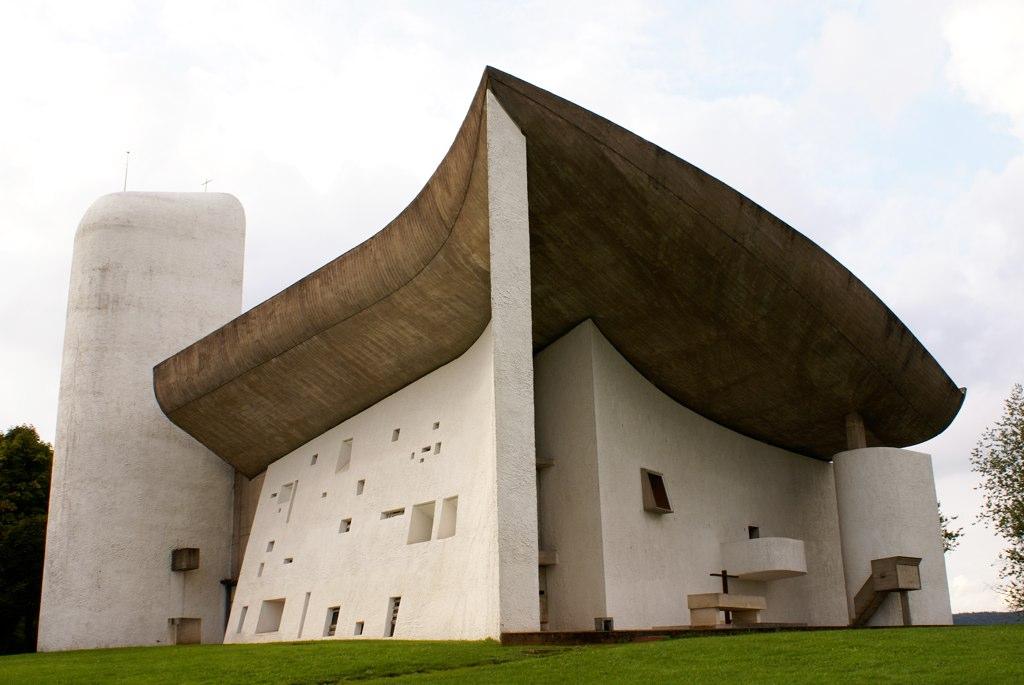 ル・コルビュジエ ロンシャンの礼拝堂