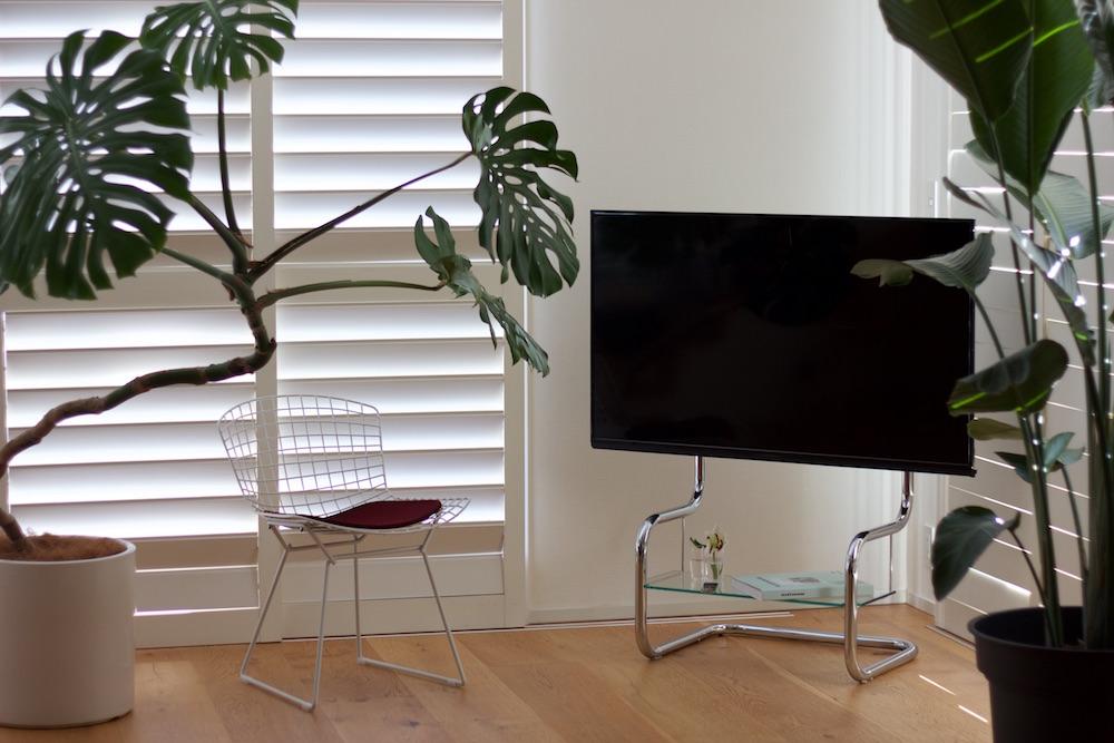 TV stand zeitgeist FSM Chrome corner ザイトガイスト テレビスタンド FSM クローム コーナー置き
