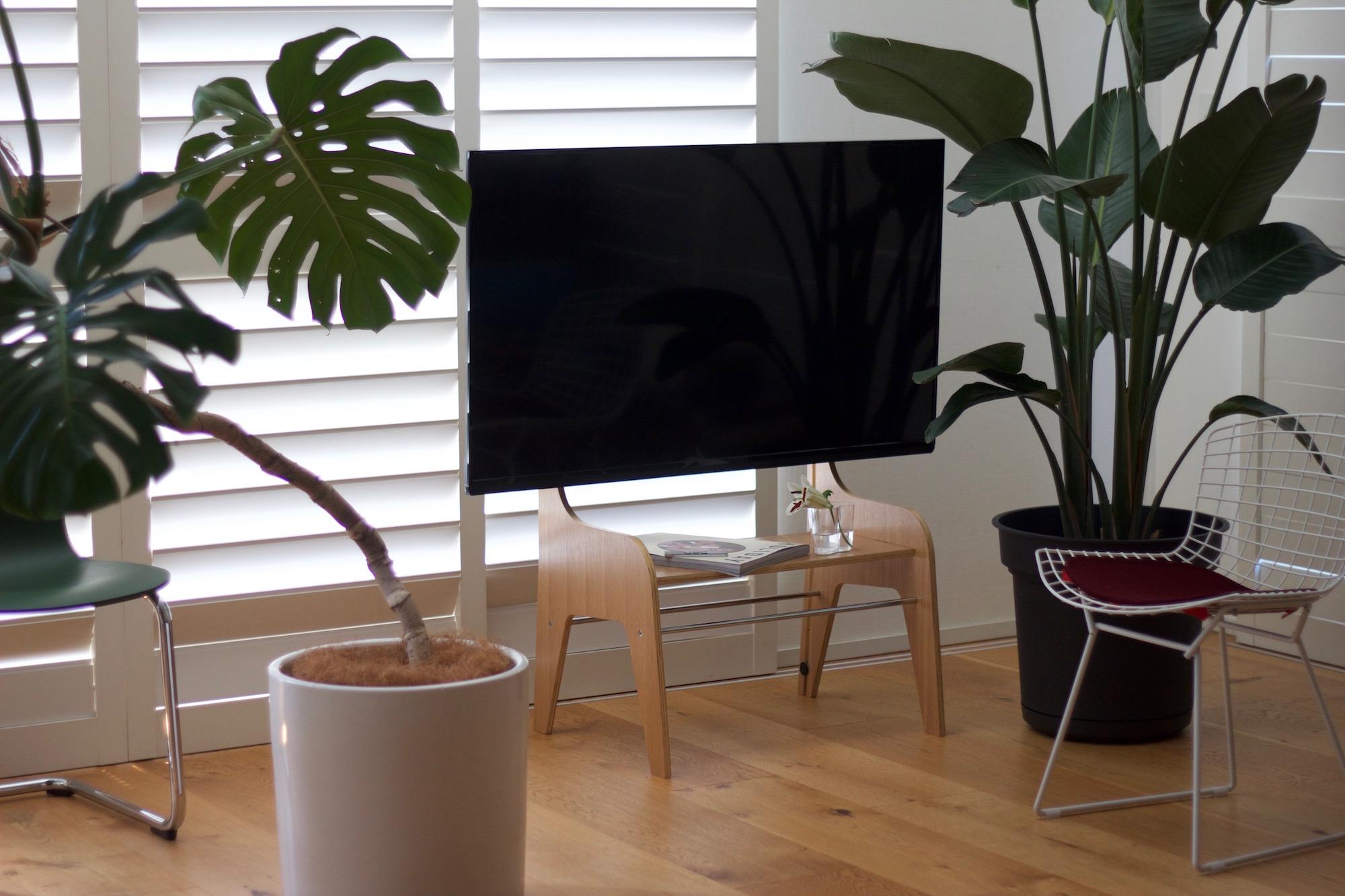 Floor Stand Wood modern midcentury deisgn TV stand