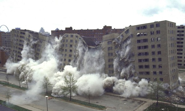 Pruitt-Igoe collapse