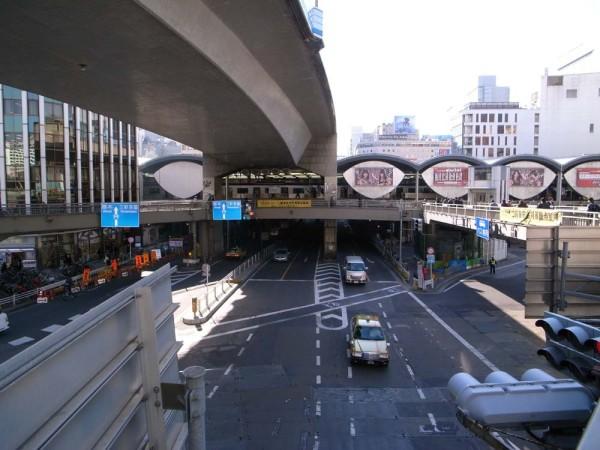 渋谷駅 改修前 東京オリンピック