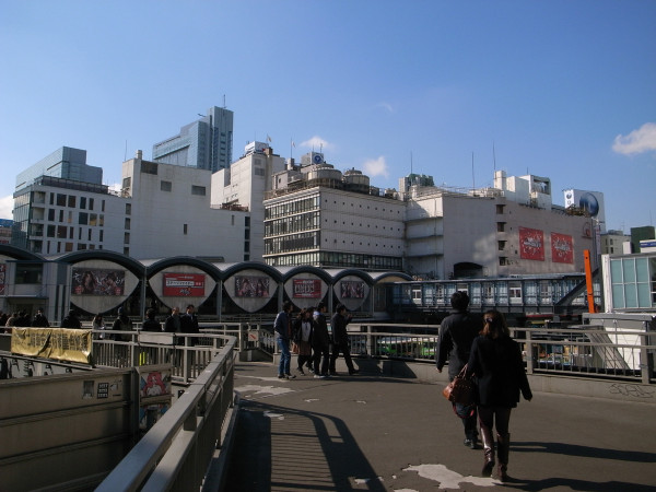 渋谷駅 解体前 東京オリンピック