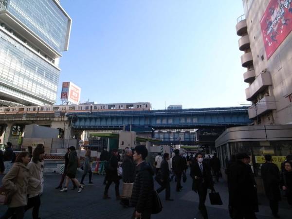 渋谷駅 銀座線 高架 東京オリンピック