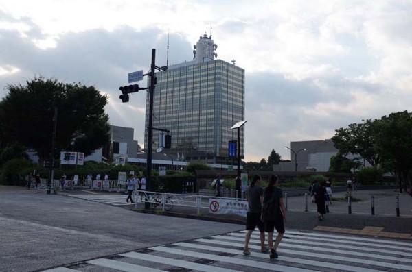 NHK 渋谷 公園通り 東京オリンピック 1964