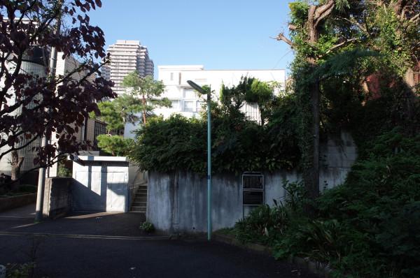 土浦亀城邸遠景 昭和 モダニズム 住宅