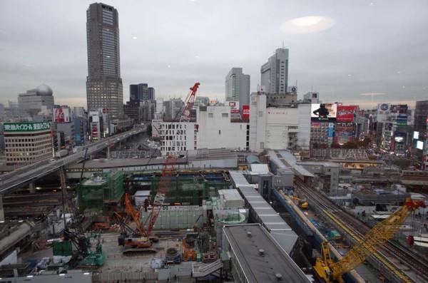 渋谷駅 解体中 東京オリンピック
