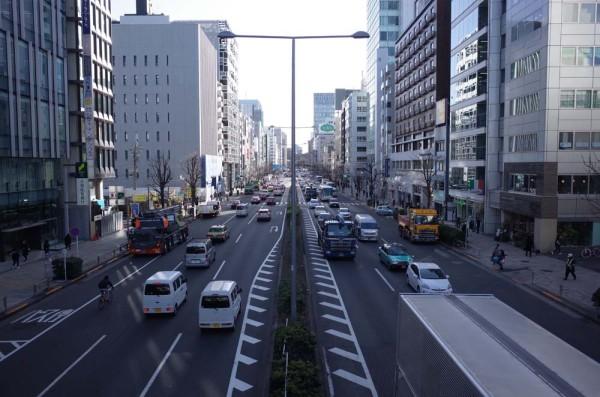 青山通り 東京オリンピック