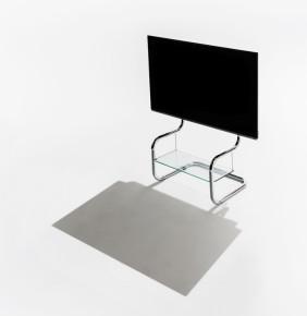 シンプルデザインのテレビスタンド。無駄をそぎ落とした、全く新しい機能的なデザイン。