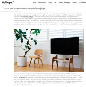 Wallpaper * にFSWが紹介されました。2018年のベストテクノロジートーイ